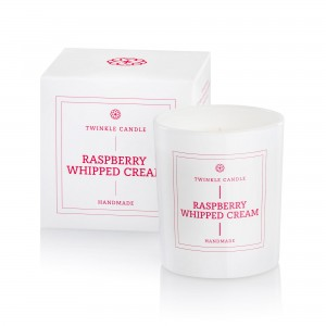 Świeca sojowa Raspberry Whipped Cream 200 ml